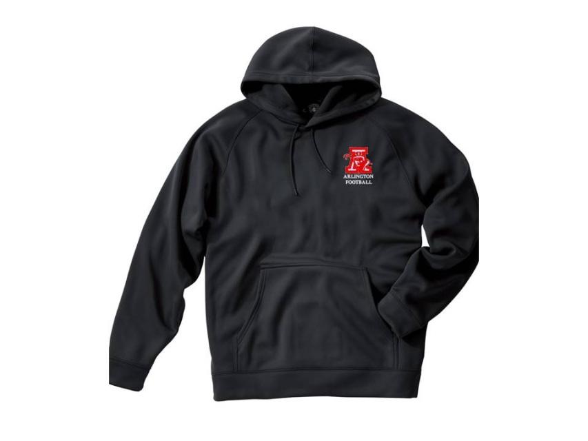 c7cd3d65e1f8b Arlington Spy Ponders Bonded Sweatshirt with Gridiron Logo
